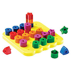 Learning Resources Stacking Shapes Pegboard