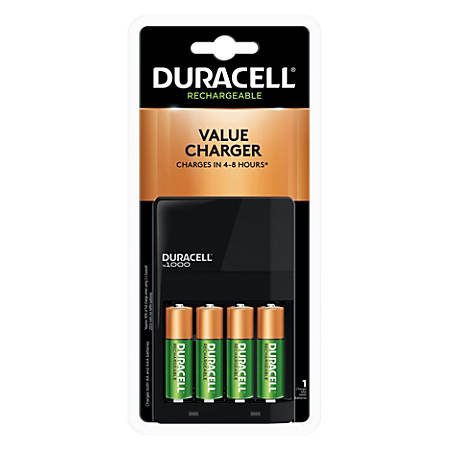 Duracell® Ion Speed Battery Charger For NiMH AA And AAA Batteries, CEF14