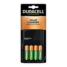 Duracell Ion Speed Battery Charger For