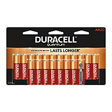 Duracell Quantum Alkaline AA Batteries Pack