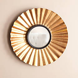Southern Enterprises Kalera Circular Decorative Mirror