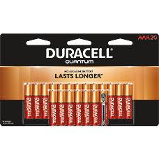Duracell Quantum Alkaline AAA Batteries Pack