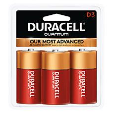 Duracell Quantum Alkaline D Batteries Pack