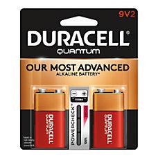 Duracell Quantum Alkaline 9 Volt Batteries