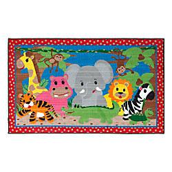 Flagship Carpets Cutie Jungle Rug Rectangle