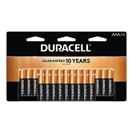 Duracell® Coppertop Alkaline AAA Batteries, Pack Of 24