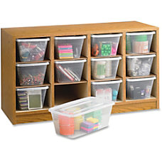 Safco 12 Compartment Laminate Supplies Organizer