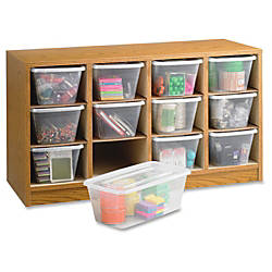 Safco 12 compartment Supplies Laminate Organizer