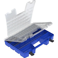 Akro Mils Portable Organizer ClearBlue
