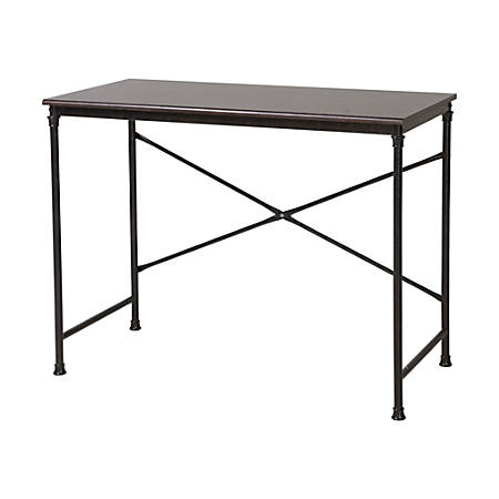 Homestar North America Writing Desk, FSC® Certified, Mahogany