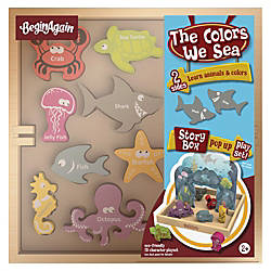 BeginAgain Toys Colors We Sea Story