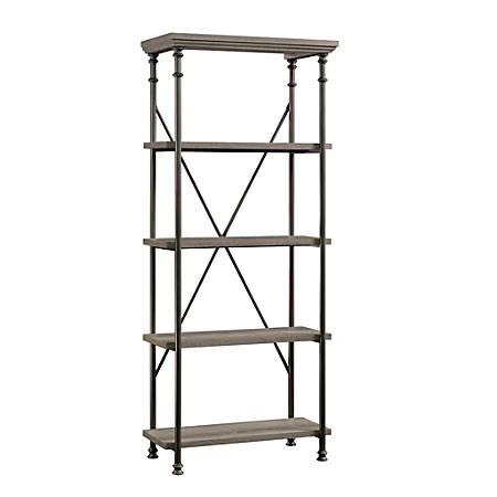 Sauder® Canal Street 5-Shelf Bookcase, Northern Oak
