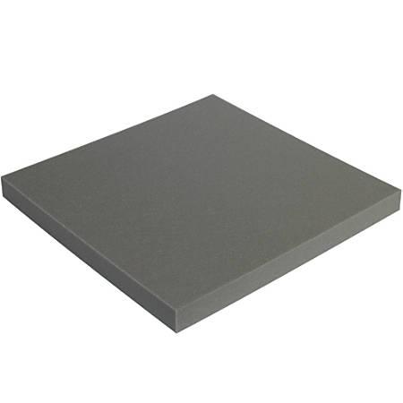 "Office Depot® Brand Soft Foam, Sheets, 2""H x 24""W x 24""D, Charcoal, Case Of 6"