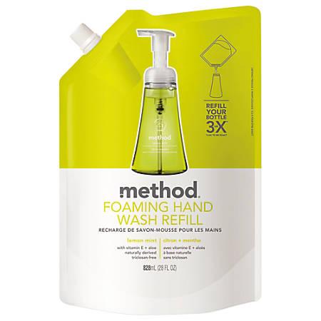 Method® Foaming Hand Wash Refill, Lemon Mint, 28 Oz