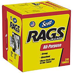 Scott Rags In A Box Box