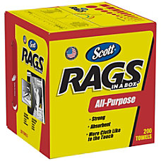 Scott Rags In A Box Box