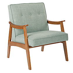 Ave Six Work Smart™ Charlene Chair, Mint/Spice