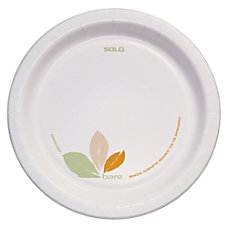 Solo Bare Plates 8 12 Pack