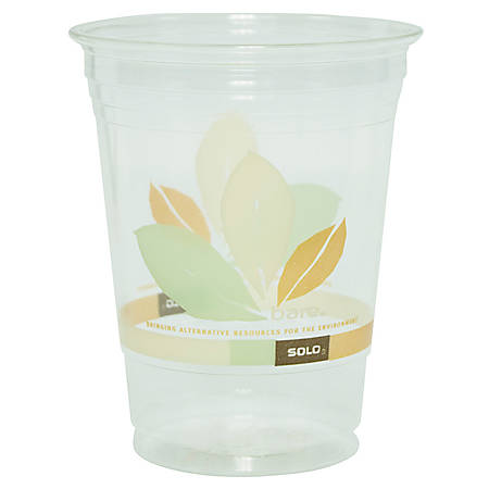 Solo® Cold Drink Cups, 16 Oz., Clear, Pack Of 50