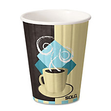 Solo Paper Hot Cups With Lids