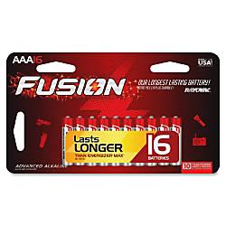 Rayovac Fusion Alkaline AAA Batteries AAA