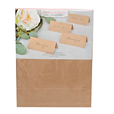Gartner Studios Kraft Printable Place Cards