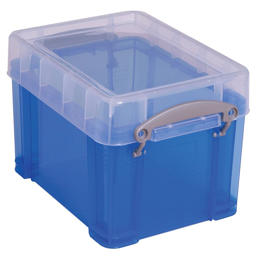 Really Useful Box Plastic Storage Box 3 Liters 6 12 H x 7 14 W 9 12