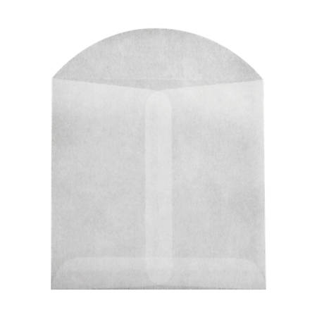 """LUX Open-End Envelopes With Flap Closure, 3 3/4"""" x 4 3/4"""", Glassine, Pack Of 1,000"""