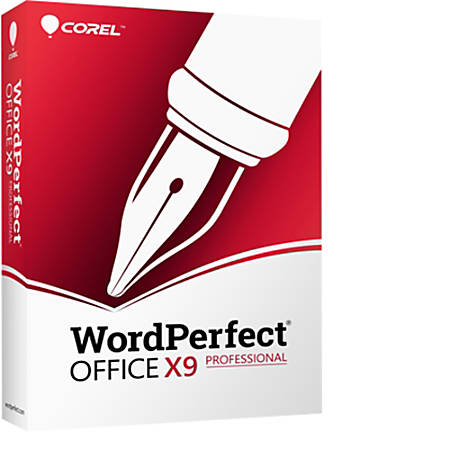 WordPerfect Office X9 Pro Upgrade