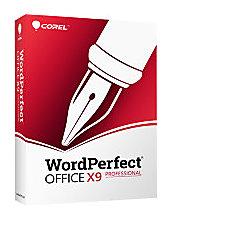 WordPerfect Office X9 Pro Upgrade