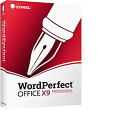 WordPerfect Office X9 Pro Upgrade Download