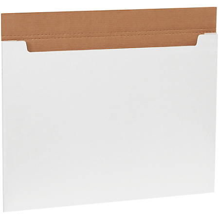 "Office Depot® Brand White Jumbo Fold-Over Mailers, 30"" x 22 1/2"" x 1/4"", Pack Of 20"