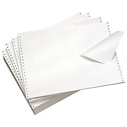 Domtar Continuous Form Paper Clean Edge