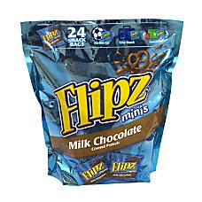Flipz Mini Chocolate Covered Pretzels Snack