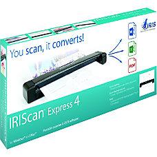 IRIS IRIScan Express 4 Sheetfed Scanner