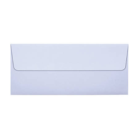 "LUX Square-Flap Invitation Envelopes With Peel & Press Closure, #10, 4 1/8"" x 9 1/2"", Lilac, Pack Of 1,000"