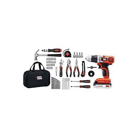 Black & Decker 20V MAX* Lithium Drill & Project Kit