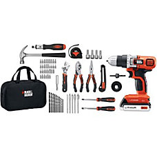 Black Decker 20V MAX Lithium Drill