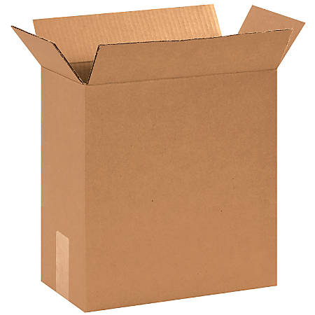 """Office Depot® Brand Corrugated Boxes, 12 3/4""""L x 6 3/8""""W x 13 1/2""""H, Kraft, Pack Of 25"""