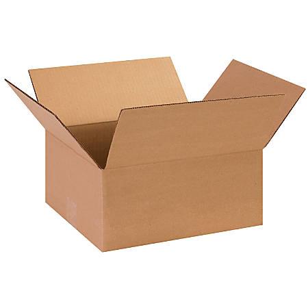 "Office Depot® Brand Corrugated Cartons, 13"" x 11"" x 6"", Kraft, Pack Of 25"
