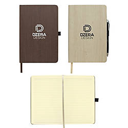 Woodgrain Look Notebook 5 12 x