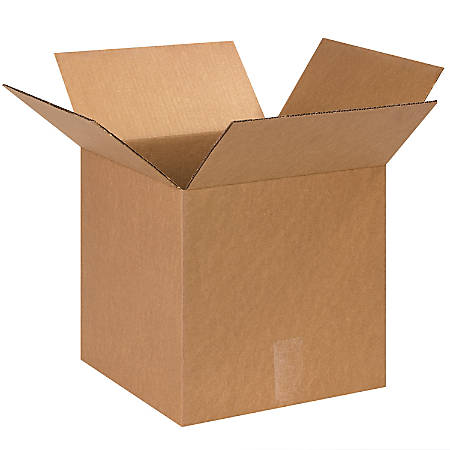 """Office Depot® Brand Corrugated Boxes, 13""""L x 13""""W x 13""""H, Kraft, Pack Of 25"""
