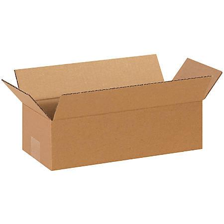 "Office Depot® Brand Long Boxes, 14""L x 6""H x 4""W, Kraft, Pack Of 25"