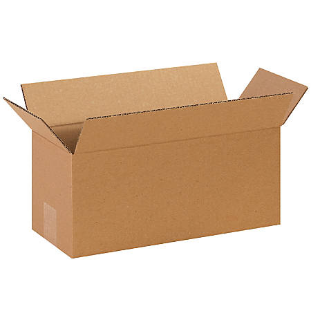 "Office Depot® Brand Long Boxes, 14""L x 6""H x 6""W, Kraft, Pack Of 25"