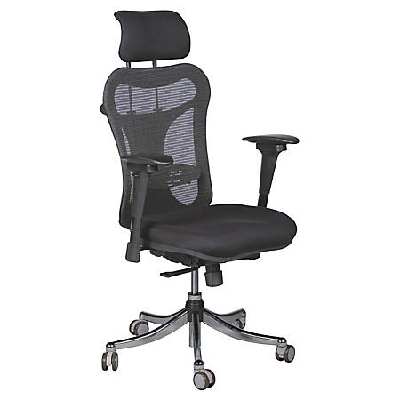 Balt Ergo Executive Mesh Back Adjule Chair 51 H X 28