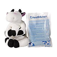 HealthSmart Margo Moo Reusable Stuffed Animal