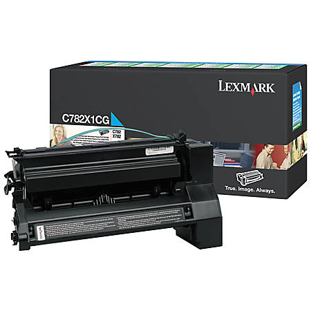 Lexmark™ X782X1CG Extra-High-Yield Cyan Toner Cartridge
