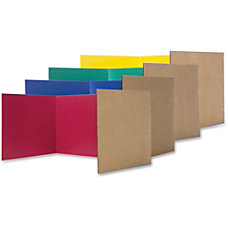 Flipside Color Tri fold Study Carrel