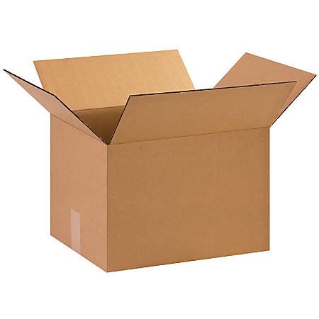 "Office Depot® Brand Corrugated Cartons, 15"" x 12"" x 10"", Kraft, Pack Of 25"