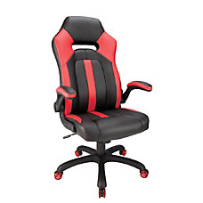 Realspace High Back Gaming Chair RedBlack